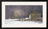 Evening At Long Farm Framed Giclee Print by Ray Hendershot