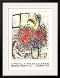 La Chevauchee Print by Marc Chagall