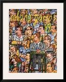 Roland Garros Poster by Antonio Segui