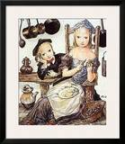 In the Kitchen Prints by Tsuguharu Foujita