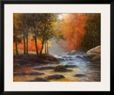 Rocks and Stream Prints by T. C. Chiu