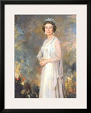 Her Majesty Queen Elizabeth II Posters by R. Macarron