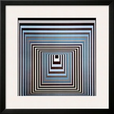Vonal Ksz Prints by Victor Vasarely