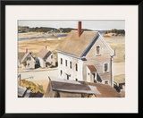 House By 'squam River, Gloucester (cape Ann, Massachusetts), 1926 Posters by Edward Hopper