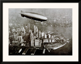 Zeppelin Over New York Prints