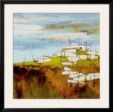 Peaceful Village I Print by Emiliana Cordaro