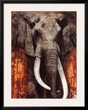 Elephant Poster by Fabienne Arietti