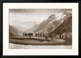 Snow on the Galibier, c.1924 Prints