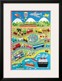 Going Places Poster by Clare Beaton
