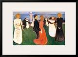 Dance of Life, 1900 Print by Edvard Munch