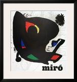 Musee d'Art Moderne, 1974 Prints by Joan Miró