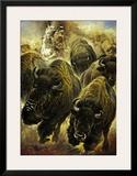 Buffeljagd Posters by Renato Casaro