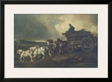 The Coal Carriage Posters by Théodore Géricault