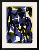 Vergleich Posters by A. R. Penck