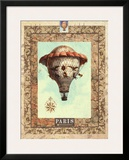 Vintage Hot Air Balloon II Art by Miles Graff