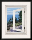 Bay Window Vista II Prints by Diane Romanello