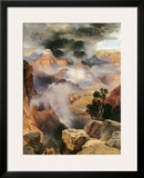 Mist in the Canyon Prints by Thomas Moran