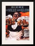 Biere De Ville Sur Illon Print by Francisco Tamagno