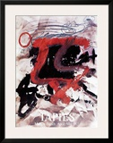 Maeght Zurich Poster by Antoni Tapies