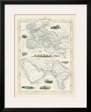 Overland Routes- India & China Prints by John Rapkin