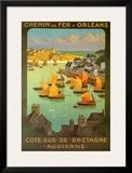 Chemi De Fer Dorleans Prints by  Alo (Charles-Jean Hallo)