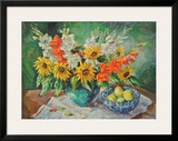 Flowers in a Vase Posters by  Kaufmann