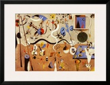 Carnival of Harlequin Art by Joan Miró