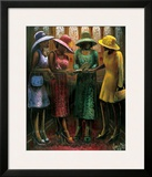 Sunday Conversation Prints by Lonnie Ollivierre
