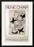 Rene Char Prints by Georges Braque