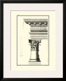 Column and Cornice III Prints by Giovanni Borra