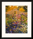 Adobe Compound Garden Prints by William Hook