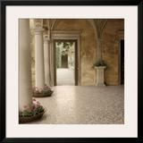 Villa Portico No. 2 Posters by Alan Blaustein