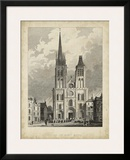 Eglise de St. Denis Prints by A. Pugin