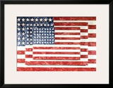 Three Flags, 1958 Prints by Jasper Johns