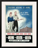 Victory Begins at Home (c.1940) Poster