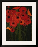 Wild Poppies Prints by Karen Tusinski