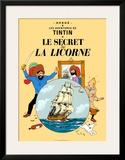 Le Secret de la Licorne, c.1943 Posters by  Hergé (Georges Rémi)