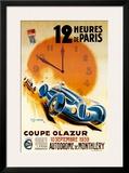 12 Heures de Paris Posters by Geo Ham