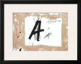 Lettre A Poster by Antoni Tapies