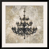 Onyx Chandelier Prints by Marta Wiley