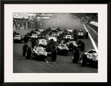 French Grand Prix Prints by Rainer W. Schlegelmilch