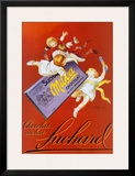 Chocolat Au Lait Fuchard Poster by Leonetto Cappiello