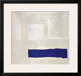 White and Blue, c.1960 Art by William Scott