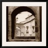 Courtyard in Burgos Posters by Alan Blaustein