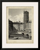 Place du Chatelet Prints by A. Pugin