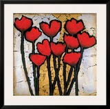 Tulip Garden I Print by Gabriel Scott