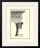 Column and Cornice IV Poster by Giovanni Borra