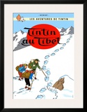 Tintín en el Tíbet (1960) Pósters por Hergé (Georges Rémi)
