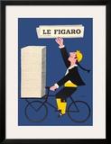 Le Figaro Print by Raymond Savignac