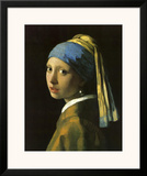 Girl with Pearl Earring Art by Jan Vermeer